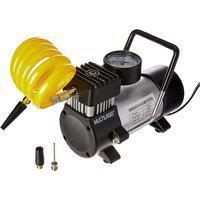 Compressor De Ar Multilaser Au616 12V 20L/Min 100Psi 3 Bicos Preto