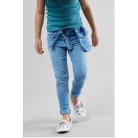 Calça Com Bolsinha Casual Reserva Mini Prática Confortável Azul