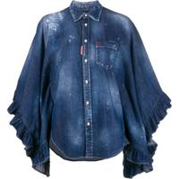 Dsquared2 Camisa Jeans Lilou - Azul