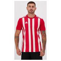 Camisa Adidas Striped 21 Vermelha E Branca