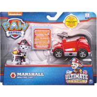 Figura E Mini Veículo - Patrulha Canina - Resgate Extremo - Marshal & Mini Fire Cart - Sunny