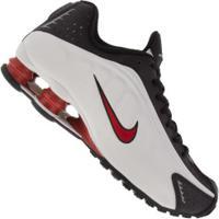 Tênis Nike Shox R4 - Masculino - Cinza Cla/Preto