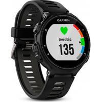 Monitor Cardíaco Com Gps Garmin Forerunner 735Xt - Preto/Cinza