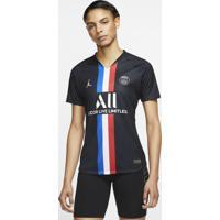 Camisa Jordan X Psg 2019/20 Iv Torcedora Pro Feminina