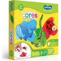 Jogo Educativo - Explorando As Cores - Toyster