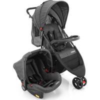 Carrinho Para Bebê Tirável System Duo Jetty Preto Cosco