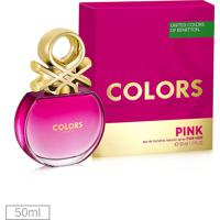 Perfume Colors Pink Her 50Ml