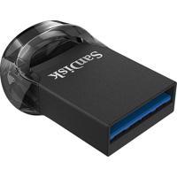Pendrive Ultra Fit 32Gb Usb 3.1 Preto Sandisk