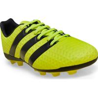 Chuteira Masc Infantil Adidas S42144 Ace 16.4 Fxg J Limao
