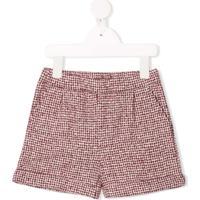 Douuod Kids Fleece Shorts - Vermelho