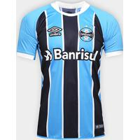 Camisa Grêmio I 17/18 S/Nº Jogador Umbro Masculina - Masculino