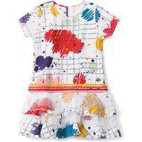 Vestido Lilica Ripilica Infantil Branco