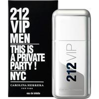 212 Vip Men By Carolina Herrera Eau De Toilette Masculino 50 Ml