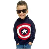 Blusa Tricot Heróis Masculina Menino Infantil Shopping Do Tricô