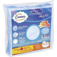 Fralda Luxo Cremer 5 Peças - Unissex-Azul