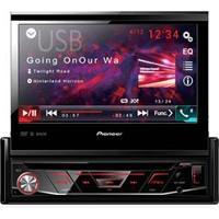 Dvd Player Automotivo Pioneer Avh-4880Bt Com Conexão Bluetooth, Entrada Usb Rádio Fm E Tela Retrátil De 7 Polegadas