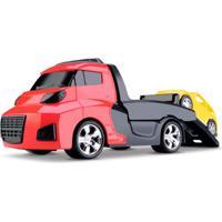 Caminhão Invictus - Veículo De Resgate Com Carrinho Vermelho - Cardoso
