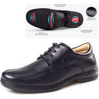 Sapato Rafarillo Masculino Em Couro Confortável Com Amortecedor