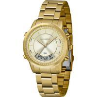 Relógio Lince Anadigi Lag4640Lc1Kx Feminino - Feminino-Dourado