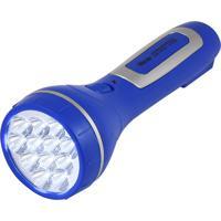 Lanterna Recarregável 12 Leds Western Azul