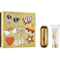 Kit Perfume Feminino 212 Vip Carolina Herrera Eau De Parfum 50Ml + Loção Corporal 75Ml - Feminino-Incolor