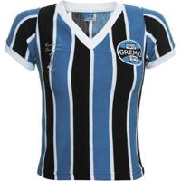 f8bc86fa0c6 Netshoes  Camisa Retrô Grêmio 1983 Feminina - Feminino