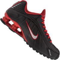 Tênis Nike Shox R4 - Masculino - Preto/Cinza