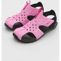 Sandália Nike Infantil Sunray Protect 2 Rosa