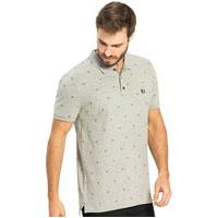 Camisa Polo Triângulo Rovitex Cinza
