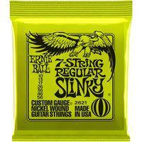 Encordoamento Para Guitarra Ernie Ball Strings Slinky 2621 Regular