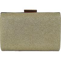 Bolsa Bag Dreams Clutch Ravena Dourada