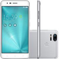 Usado Smartphone Asus Zenfone 3 Zoom 32Gb Ze553Kl Desbloqueado Prata (Muito Bom)