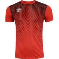 Camisa Umbro Twr Graphic Pro Velocita - Masculina - Laranja