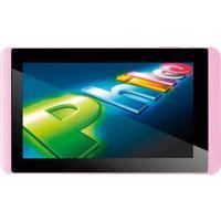 """Tablet Philco 7A1-R111A4.0 Rosa - Tela De 7"""" - Arm Cortex A8 - Ram 1Gb - Câmera De 2Mp - 8Gb - Android 4.0"""
