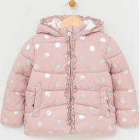 Jaqueta Infantil Estampada Com Capuz - Tam 1 A 4