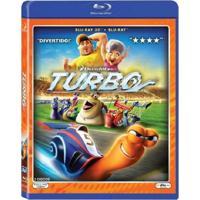 Turbo - Blu Ray + 3D Filme Infantil
