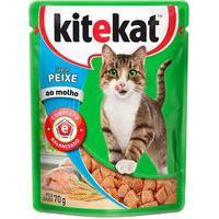 Ração Para Gatos Kitekat Adulto Sabor Peixe 70G