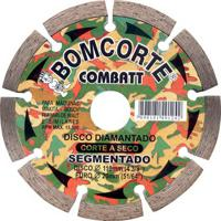 """Disco Corte Mármore Diamantado Bom Corte Segmentado, 4.3/8"""" - 1491242"""