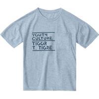 Camiseta Tigor T. Tigre Infantil Masculina - Masculino-Azul