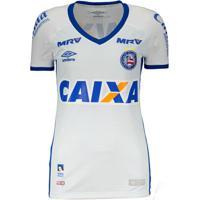 Netshoes  Camisa Feminina Umbro Bahia I 2016 - Feminino fb4bde0becf95
