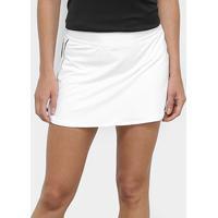 Saia Short Nike Dry - Feminino-Branco+Preto