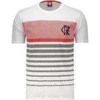 Camisa Flamengo Graphic Masculina - Masculino-Branco
