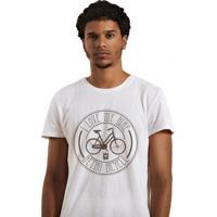 T-Shirt Joss I Love My Bike Branco