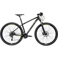"Bicicleta Mtb Caloi Blackburn Aro 29 - Susp Dianteira - Quadro 17\"" - 20 Velocidades - Preto"