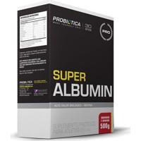 Super Albumin - 500G - Probiótica - Morango C/ Banana