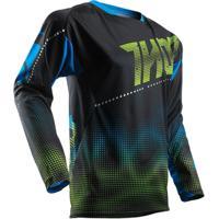 Camisa Para Motocross Thor Fuse 17 Lit - Masculino