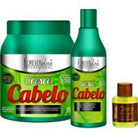Kit Cresce Cabelo Forever Liss + Oleo Argan 7Ml - Feminino
