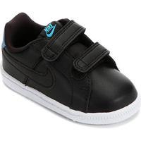Tênis Infantil Nike Court Royale - Feminino-Preto+Azul