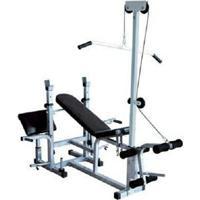 Banco De Supino 367 Estação De Musculação Aparelho Ginastica - Wct Fitness - Unissex