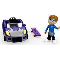 Mini Figura Com Veículo - Alvinnn!!! E Os Esquilos - Simon - Mattel - Masculino-Incolor